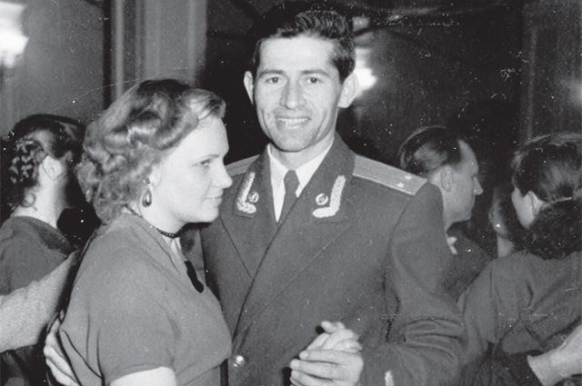Владимир Лохов с супругой Нонной Лоховой (Толстой).