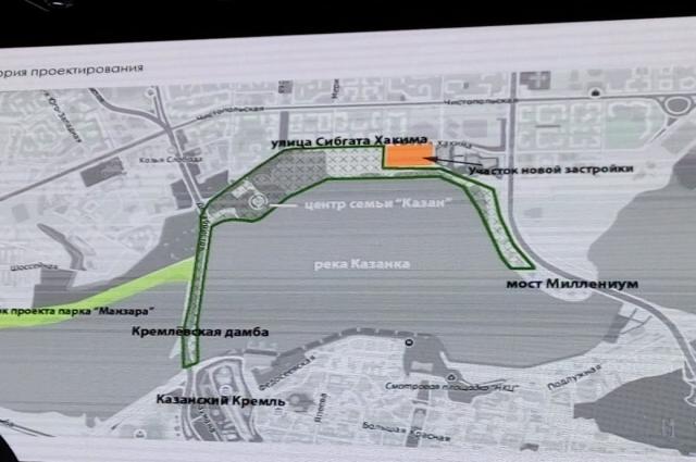 На Казанке планируют новую зеленую зону и концертный зал.