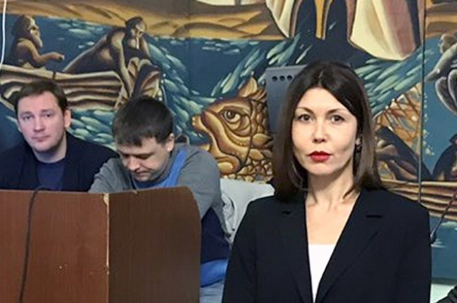 начальник контрольного управления администрации Пскова Наталья Симонова