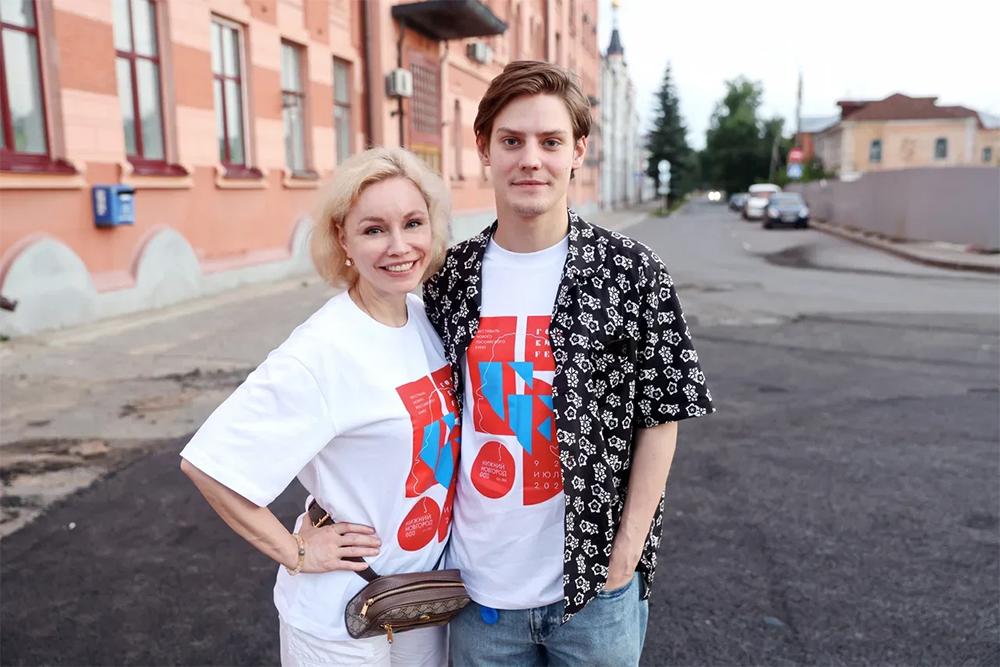 Марина Зудина и Павел Табаков на «Горький fest».