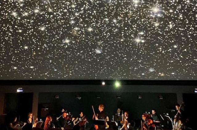 В обновлённом  Большом зале планетария вновь звучат Вивальди и Бах.