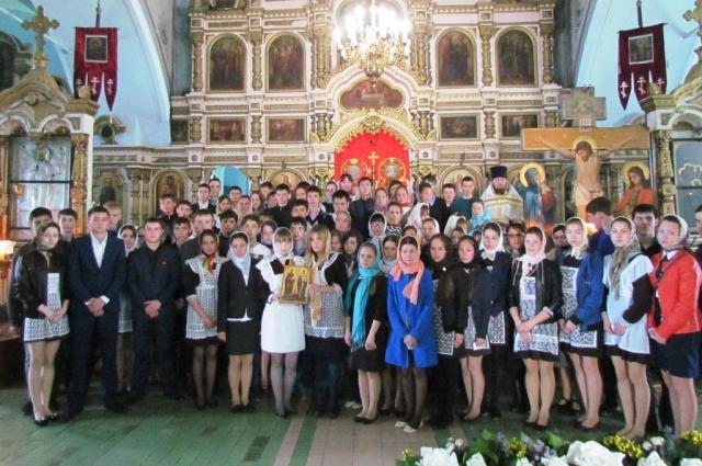 село Акулево, воскресная школа