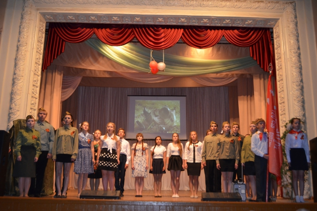 Палкинская средняя школа.