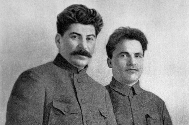 Иосиф Виссарионович Сталин и Сергей Миронович Киров. 1926 год.