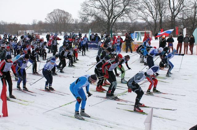 Гордость Ряжского района - благоустроенная лыжная трасса, с хорошо укомплектованной лыжной базой.