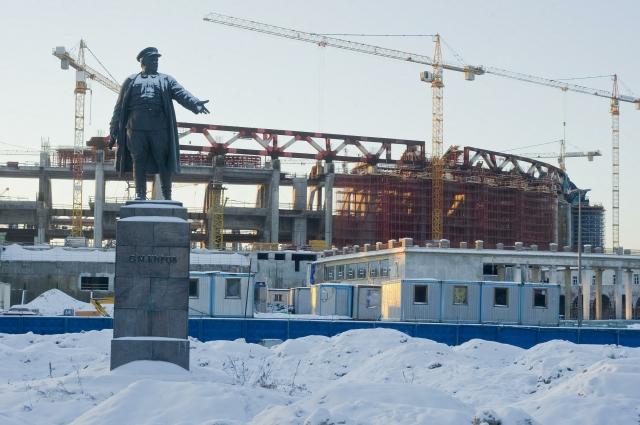 Началась новая, совсем не такая славная история строительства стадиона «Зенит-арена».
