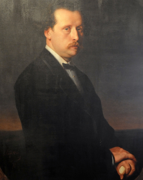 Николай Рубинштейн. Портрет В. Перова.