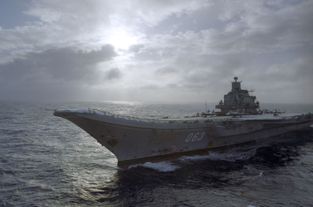 Авианесущий крейсер «Адмирал Кузнецов».