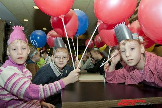 Для детей акция стало настоящим праздником.