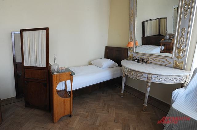 Кровать, на которой умер Владимир Ленин