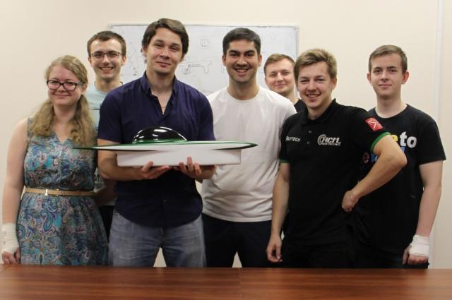 Команда из России участвует в конкурсе впервые.