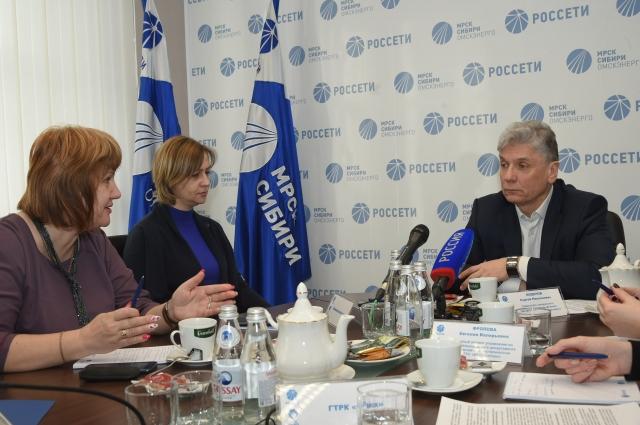 Заместитель генерального директора – директор ПАО «МРСК Сибири» - «Омскэнерго» Сергей Моденов.