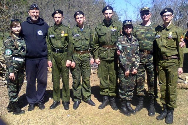 30 рота Югры и Следопыт  командиры отрядов С.Н.Городиловм и С.В.Еремин