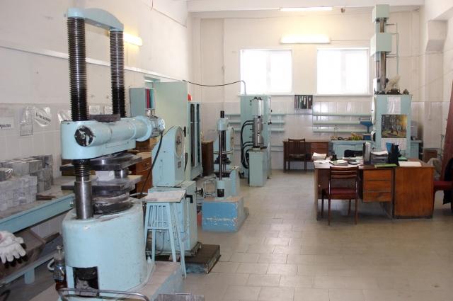 Часть лаборатории.