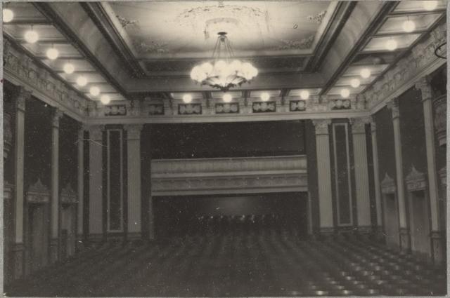 Так театр музкомедии выглядел изнутри.