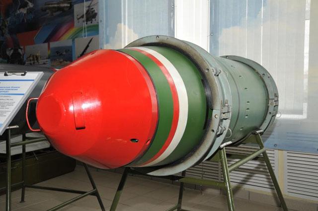 Музей ПО Старт. Корпус специальногобоевого зарядного отделения торпеды.