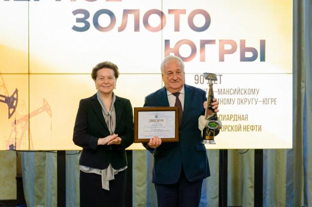 Лидером в номинации «Компания года» признано публичное акционерное общество «Сургутнефтегаз»