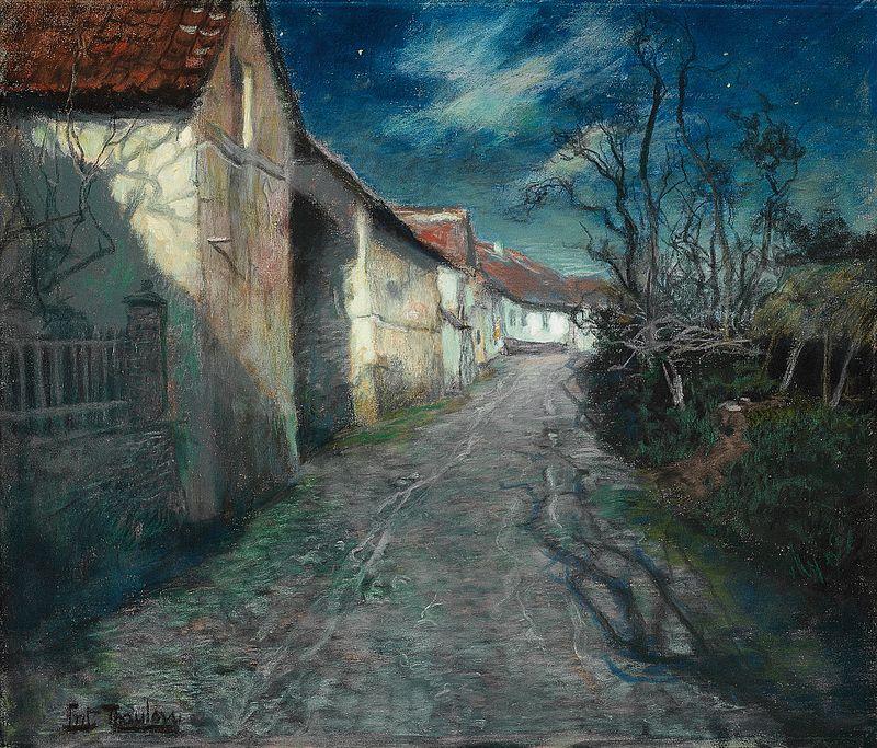 Фриц Таулов. Лунная ночь в Бьюли