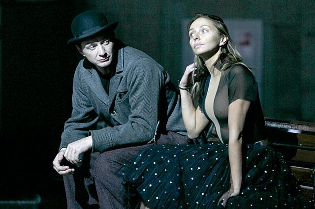 Актер Марат Башаров и фигуристка Татьяна Навка.