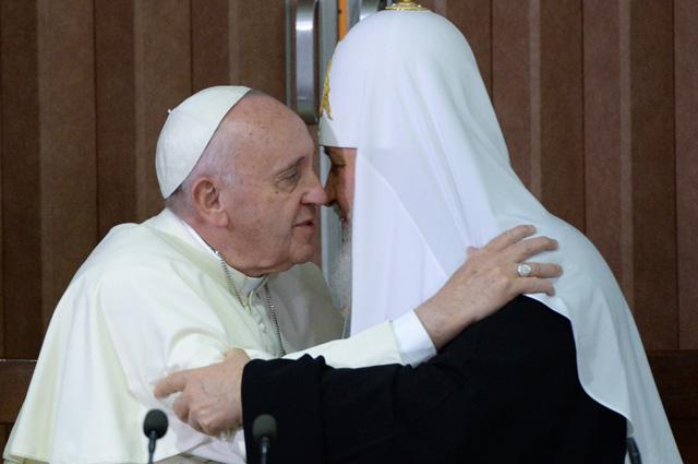 Встреча Папы и Патриарха стала новой вехой в истории человечества.