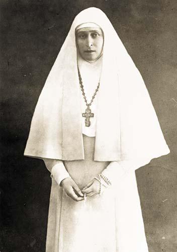 Елизавета Федоровна причислена к лику святых.