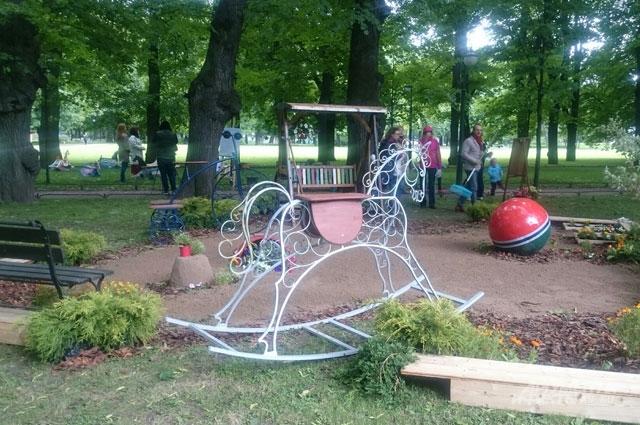 Фестиваль садов в Санкт-Петербурге.