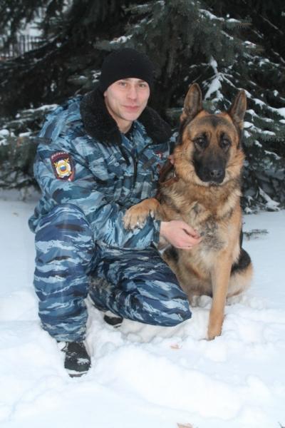 служебная собака Джессика
