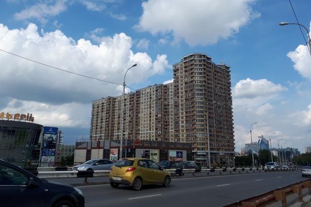Улица Мельникайте, Тюмень.