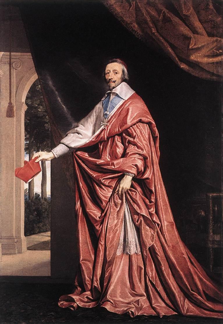 Филипп де Шампань. Портрет кардина Ришелье