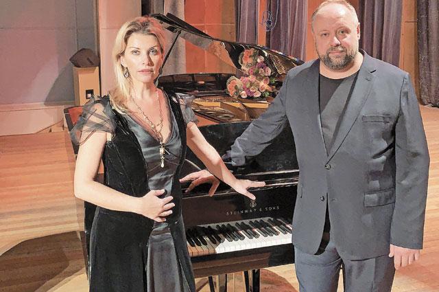 Звёзды мировой музыки: Басиния Шульман иАлександр Гиндин.