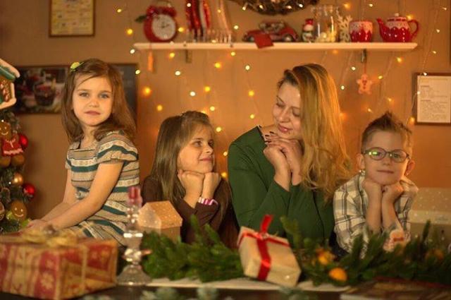 Ольга со своими приемными детьми вместе уже третий год