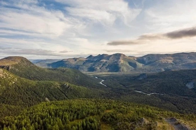 Народо-Итьинский кряж – первобытный уголок природы.