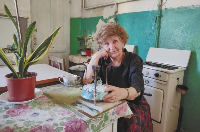 Елена Жилкина живёт в этой ростовской коммуналке с 1943 года и не хочет променять её даже на Италию.