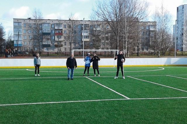 В Вяземском районе дети будут заниматься спортом в комфортных условиях.