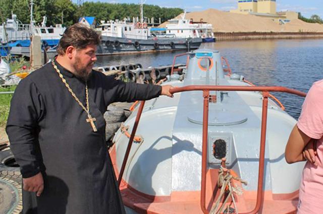 яхтсмен Владимир Кондратьев