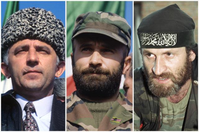 Чеченские лидеры