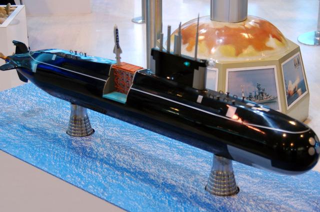 Модель подводной лодки Амур-950