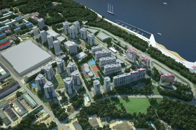 план нового микрорайона в Чебоксарах