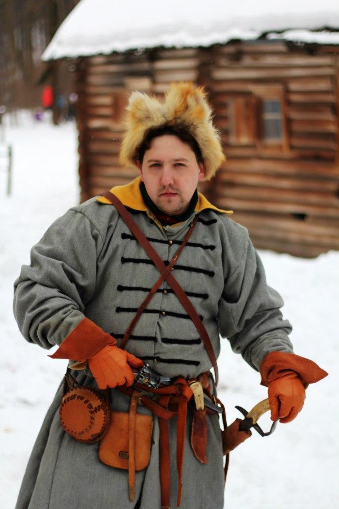 Денис Сятрайкин в костюме стрельца