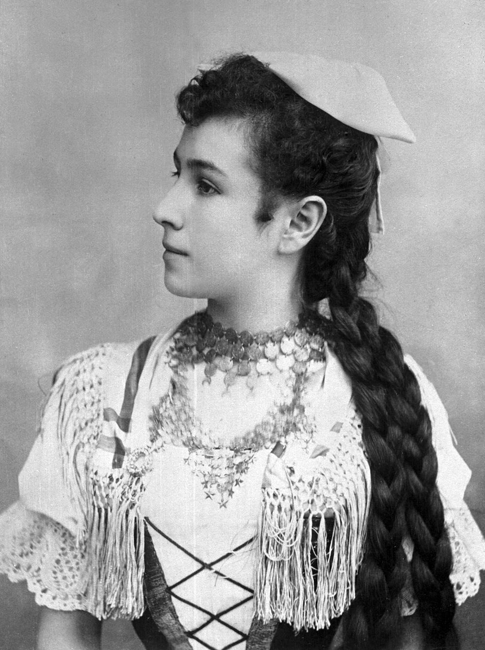 Балерина Матильда Кшесинская. 1896 год