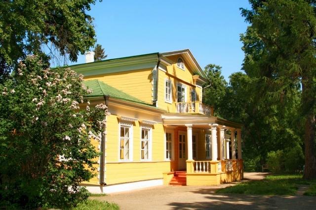 Барский дом болдинской усадьбы Пушкиных.