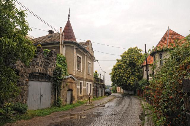 Замковая гора в Ужгороде.