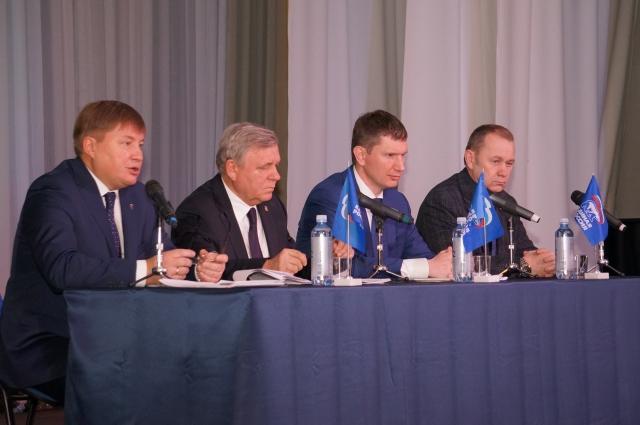 Единороссы обсудили результаты работы за год.
