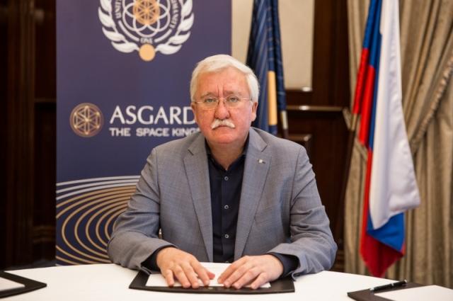 Создателем космического государства Асгардия стал ученый Игорь Айшурбели.