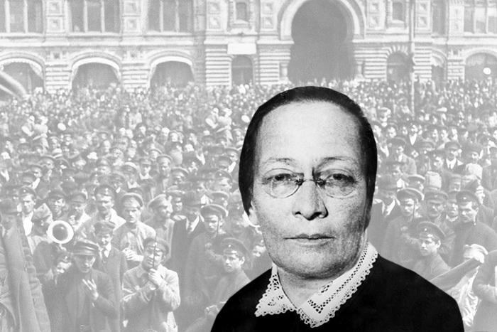 Розалия Землячка – одна из самых «кровожадных» женщин Русской революции.