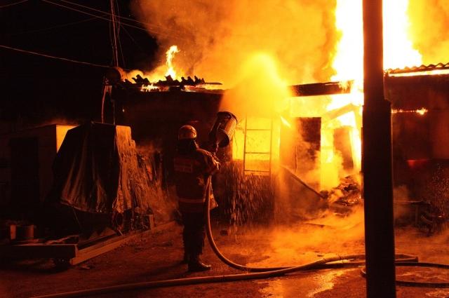 Дачи, к сожалению, довольно часто горят.