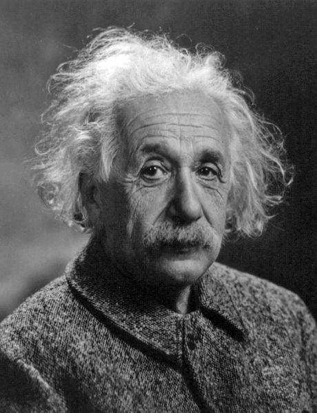 Альберт Эйнштейн в 1947 году
