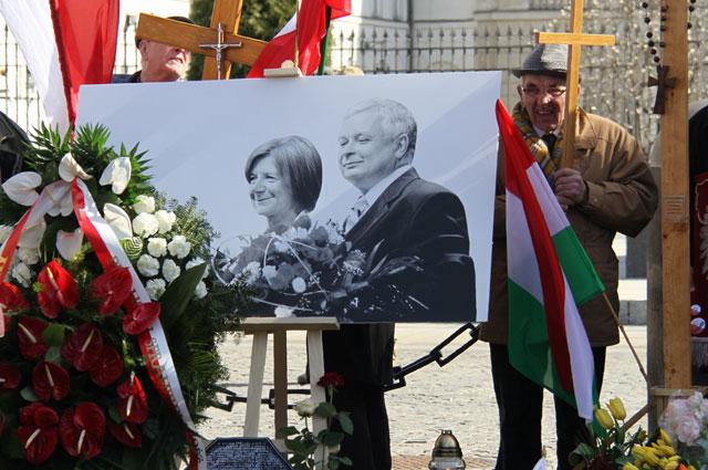 Траурные мероприятия в память о Лехе Качиньском