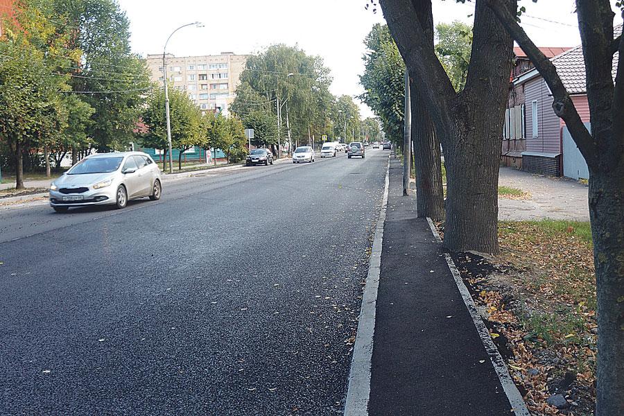 Нацпроект преобразил дороги в областном центре.