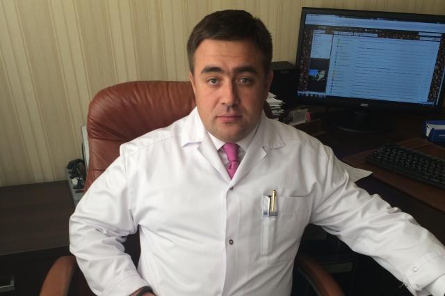Ведущий хирург-трансплантолог Иркутской областной клинической больницы Александр Новожилов.